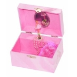 Amelia Pink Ballerina Girls Music Box