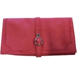 Coral Pink Jewellery Roll