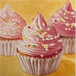 Cupcakes Square Tile