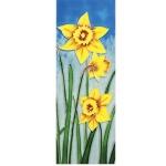 Daffodils Rectangular Tile