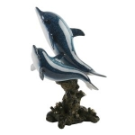 Dolphins Swimming Ornament