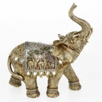 Extra Large Gold Elephant Ornament