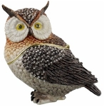 Extra Large Owl Trinket Box