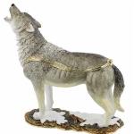Extra Large Wolf Trinket Box