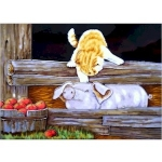 Farmyard Pals Rectangular Wall