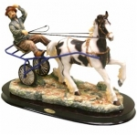 Trotting Horse and Trap Ornament