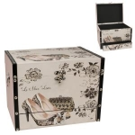 Lace Shoe and Bag Wooden Storage Box with Drawer