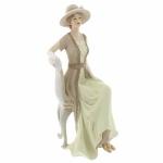 Lady Elizabeth Manor House Figurine