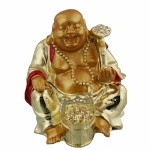 Laughing Buddha with Bucket Trinket Box