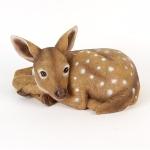 Lying Sika Deer Ornament