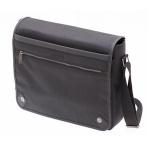 Manhattan Black Messenger Bag