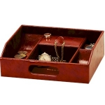 Men's Raffles Tan Desk Top Organiser