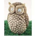 Otis Owl Large Solar Light