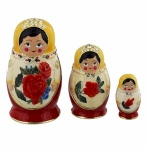 Russian Dolls Trinket Boxes