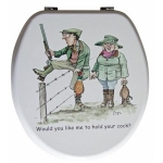 Sex in the Country Novelty Toilet Seat