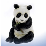Sitting Panda Ornament