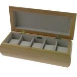 Small Champagne Rose Watch Box