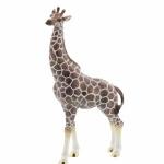 Small Enamel Giraffe Ornament