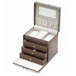 Stardust Medium Rectangular Lockable Jewellery Box