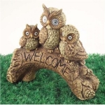 Welcome Owls Solar Light
