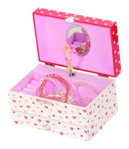 Heart Fairy Molly Musicial Jewellery Box