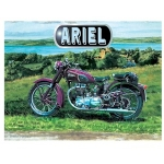Ariel Motorbike Metal Wall Sign 40 cm x 30 cm