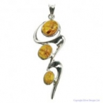 Amber Wave Pendant