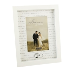 Amore Photo Frame Contemporary Cream 4 x 6