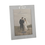 Amore Photo Frame Silver 5 x 7