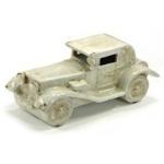 Antique Effect White Vintage Car