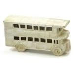 Antique Effect White Vintage Bus