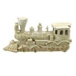 Antique Effect White Vintage Train