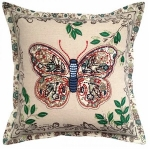 Applique Butterfly Cushion