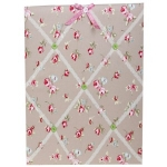 Beige Rose Chintz  Memo Board
