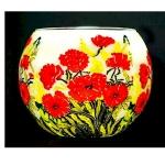 Benaya Classic Poppies Tealight Holder