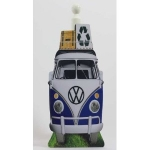 Blue Camper Van Toilet/Kitchen Roll Holder