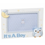 Blue Owl Photoframe