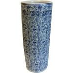 Blue and White Ceramic Umbrella Stand