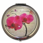 Boutique Compact Mirror Pink Orchid