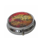 Boutique Music Notes Pill Box