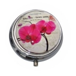 Boutique Pink Orchid Pill Box