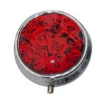 Boutique Red Rose Pill Box