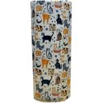 Breeds of Cats Ceramic Umbrella Stand