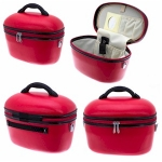 Bright Red Vanity Case