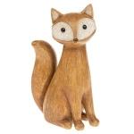 Brown Sitting Fox Ornament