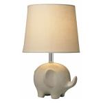 Ceramic Cream Elephant Table Lamp