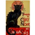 Chat Noir Rectangular Tile
