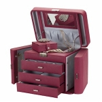 Plum Red Empress Jewellery Box