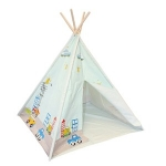 Children's Blue Wigwam Teepee Tent