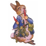 Children's Peter Rabbit Radish Clock